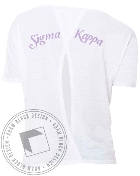 Sigma Kappa Fly With The Best Tee-Adam Block Design