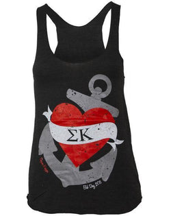 Sigma Kappa Heart Anchor Tank-gallery-Adam Block Design
