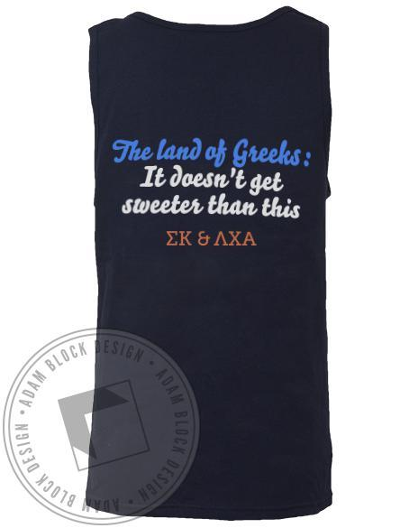 Sigma Kappa & Lambda Chi Alpha Candy Land Greek Week Tank-gallery-Adam Block Design