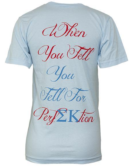 Sigma Kappa Perfection V-Neck-Adam Block Design