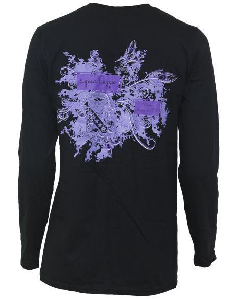 Sigma Kappa Winter Formal Longsleeve-Adam Block Design