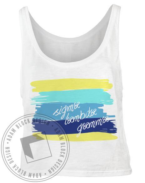 Sigma Lambda Gamma Paintbrush Tank-gallery-Adam Block Design