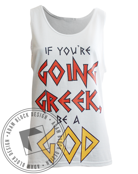 Sigma Phi Epsilon Greek Tank-Adam Block Design