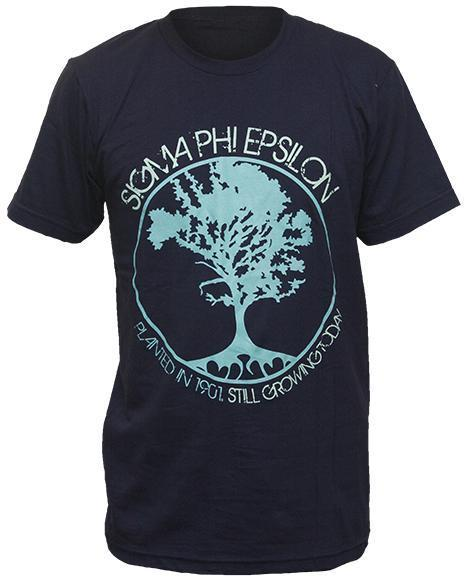 Sigma Phi Epsilon Tree Tee-Adam Block Design