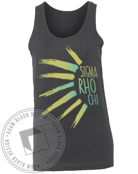 Sigma Rho Chi Sun Ray Tank-gallery-Adam Block Design