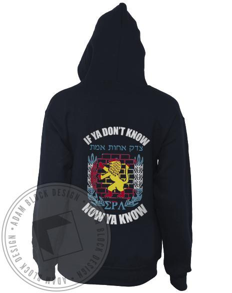 Sigma Rho Lambda Colorado Flag Hoody-Adam Block Design