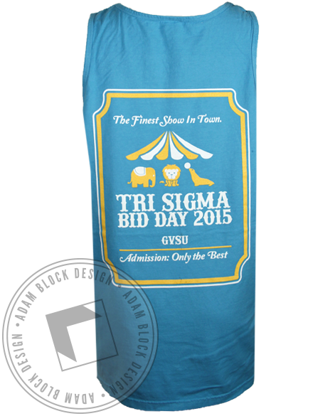 Sigma Sigma Sigma Finest Show Tank Top-Adam Block Design