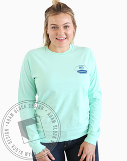 Sigma Sigma Sigma Nautical Formal Longsleeve-Adam Block Design