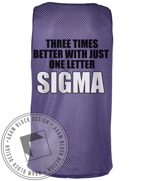 Sigma Sigma Sigma Tri And Beat Us Jersey-Adam Block Design
