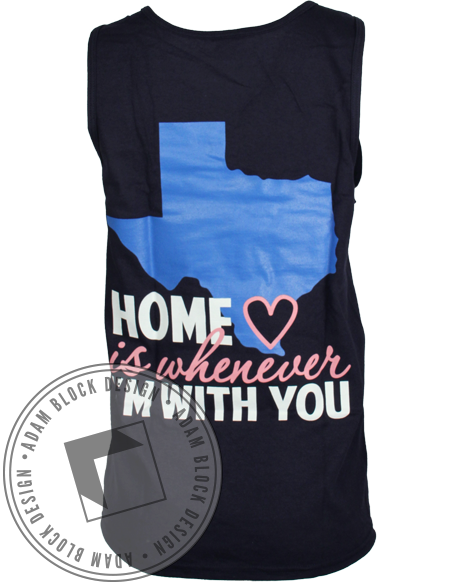 Sigma Theta Tau Home Tank-Adam Block Design