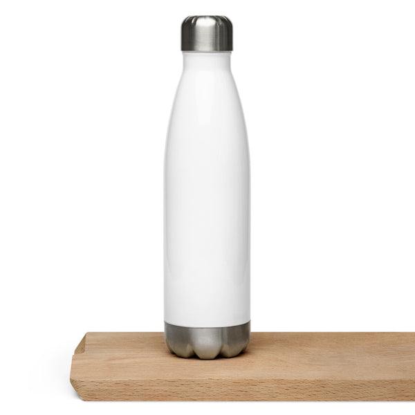 Classic Heart Stainless Steel Water Bottle - Title: Default Title - Adam Block Design