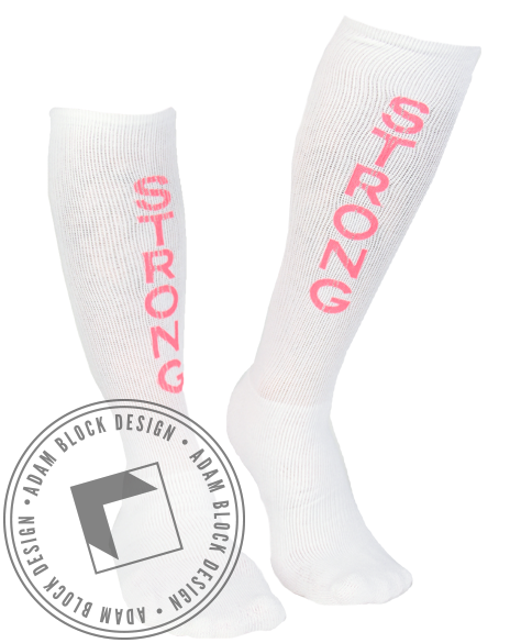 Strong Socks-Adam Block Design