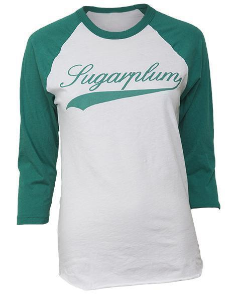 Sugarplums Baseball Tee-Adam Block Design