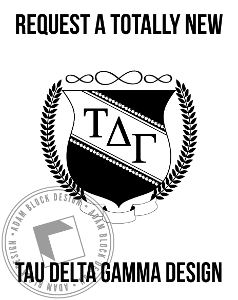 Tau Delta Gamma - New Design-Adam Block Design