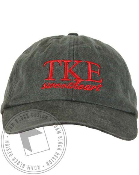 Tau Kappa Epsilon Sweetheart Hat-Adam Block Design