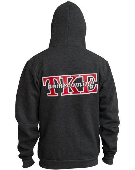 Tau Kappa Epsilon TKE Homecoming Hoody-Adam Block Design