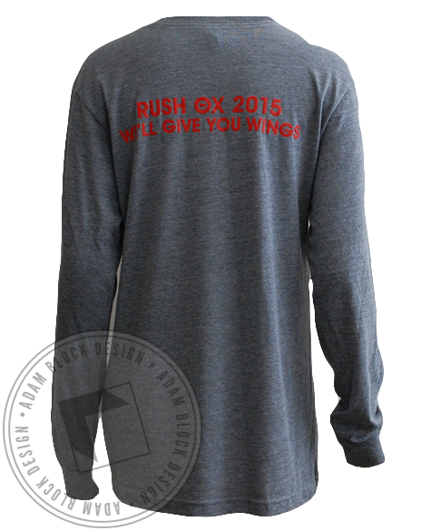 Theta Chi Bulls Energy Long Sleeve-Adam Block Design