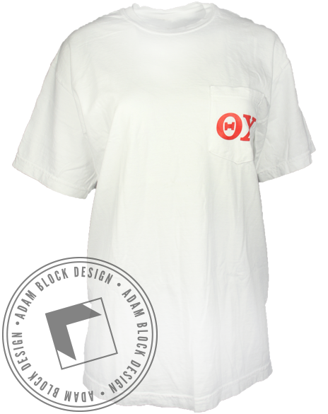 Theta Chi United States Tee-Adam Block Design