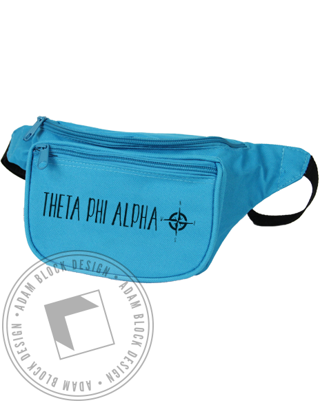 Theta Phi Alpha Compass Fanny Pack-gallery-Adam Block Design