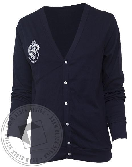 Theta Phi Alpha Crest Cardigan-gallery-Adam Block Design
