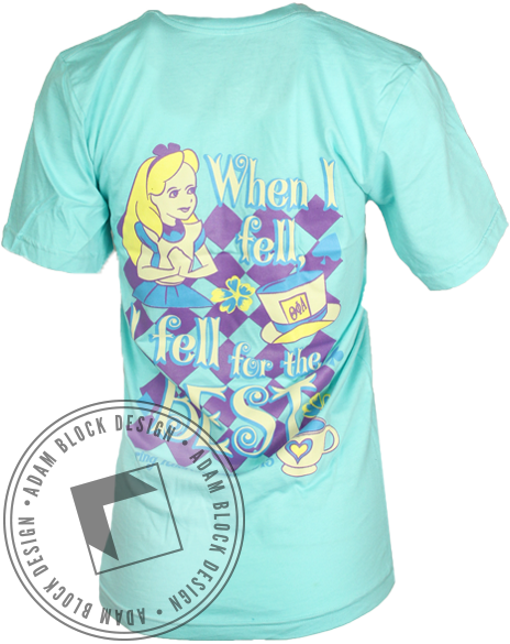 Theta Phi Alpha Fell For The Best Tshirt-gallery-Adam Block Design