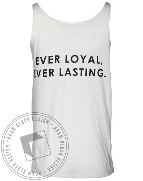 Theta Phi Alpha Floral Ever Loyal Tank Top-Adam Block Design