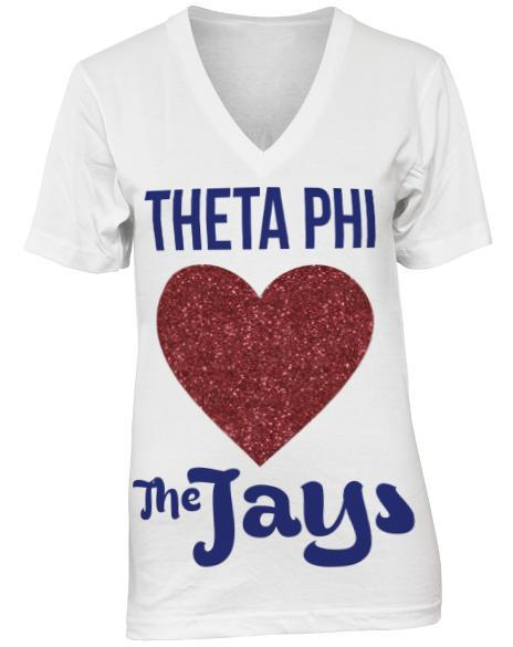 Theta Phi Alpha Meet Me In St. Louis V-Neck-gallery-Adam Block Design