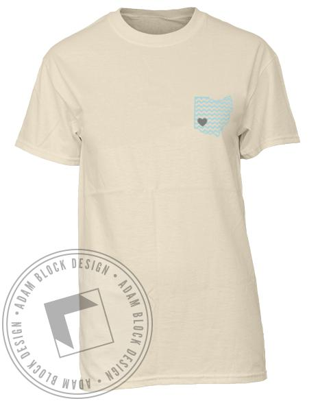 Theta Phi Alpha Ohio Tee-gallery-Adam Block Design