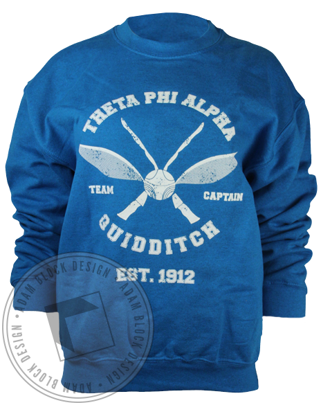 Theta Phi Alpha Quidditch Sweatshirt-gallery-Adam Block Design