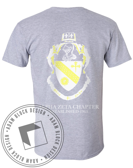 Theta Phi Alpha Recruitment Tee-gallery-Adam Block Design