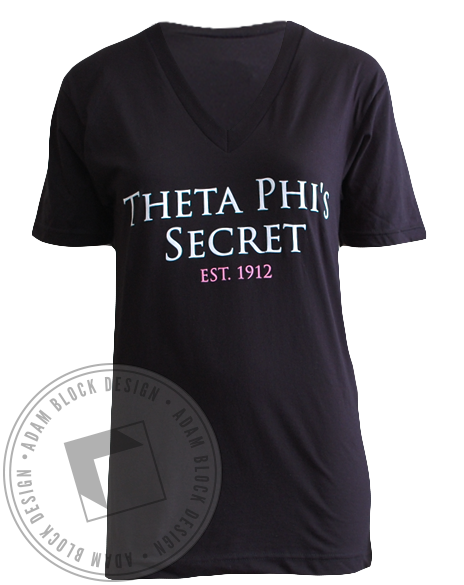 Theta Phi Alpha Secret V-neck-gallery-Adam Block Design