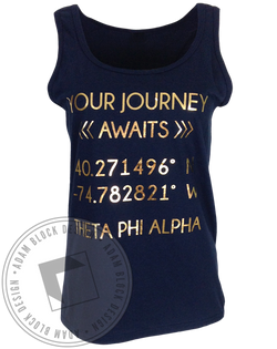 Theta Phi Alpha Your Journey Tank-gallery-Adam Block Design