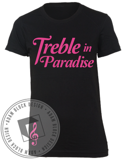 Treble in Paradise Tee-Adam Block Design
