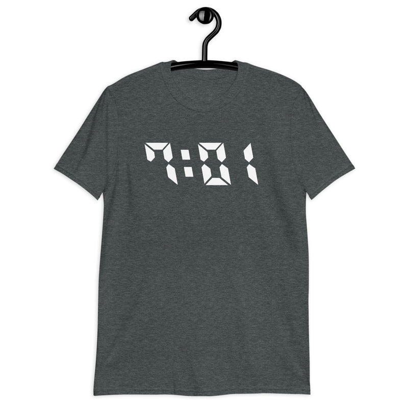 701 Shirt Area Code Design - Color: Dark Heather - Adam Block Design