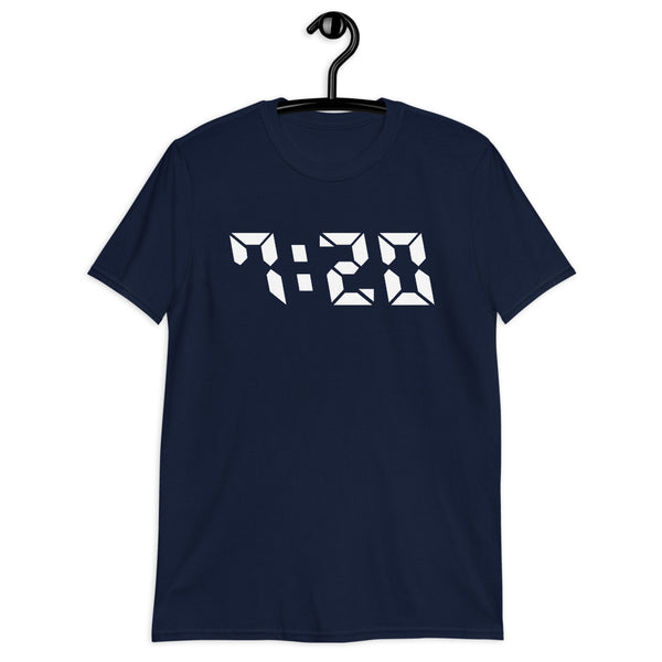 Colorado 720 Area Code Unisex T-Shirt - Color: Navy - Adam Block Design