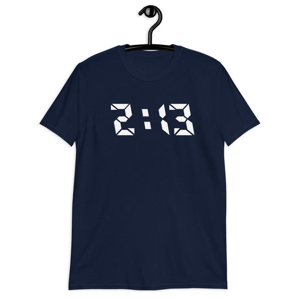 Cali 213 Los Angeles Area Code T-Shirt - Color: Navy - Adam Block Design