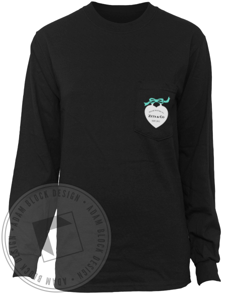 Zeta Phi Kappa Spring Collection Longsleeve-Adam Block Design