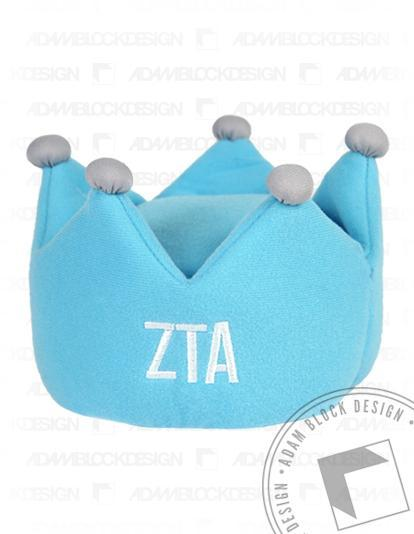 Zeta Tau Alpha Crown Greekie-Adam Block Design
