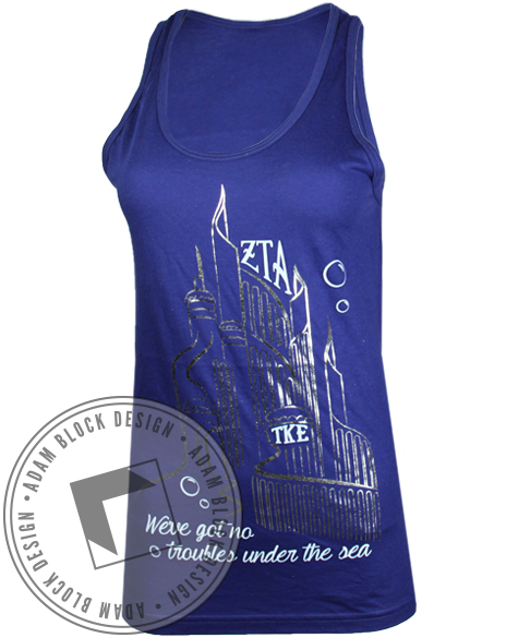 Zeta Tau Alpha Greek Week Tank-gallery-Adam Block Design