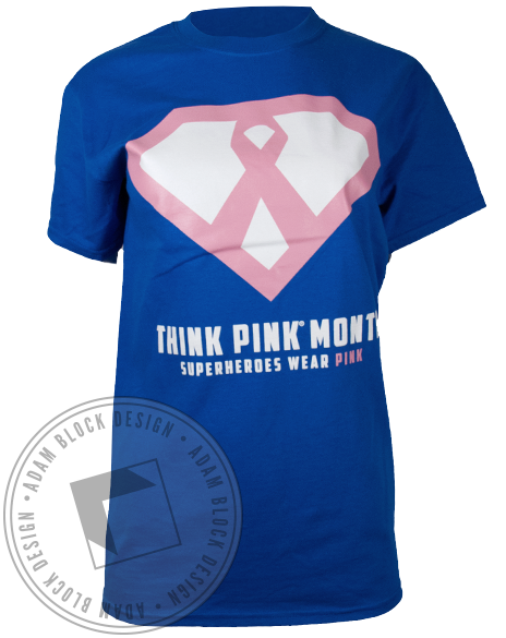 Zeta Tau Alpha Superheroes Tshirt-Adam Block Design