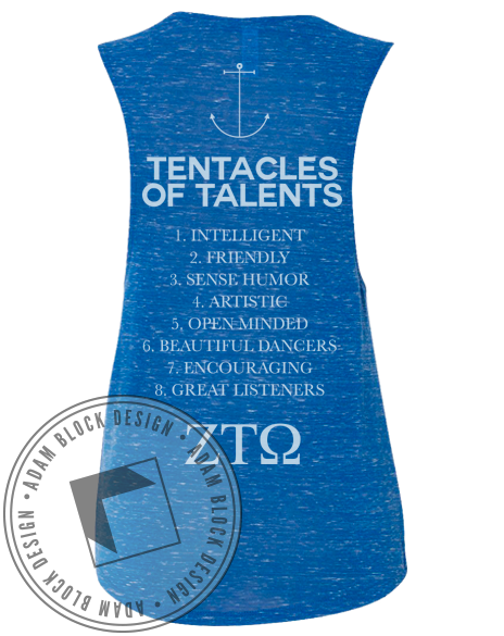 Zeta Tau Omega Octopus Tank-gallery-Adam Block Design