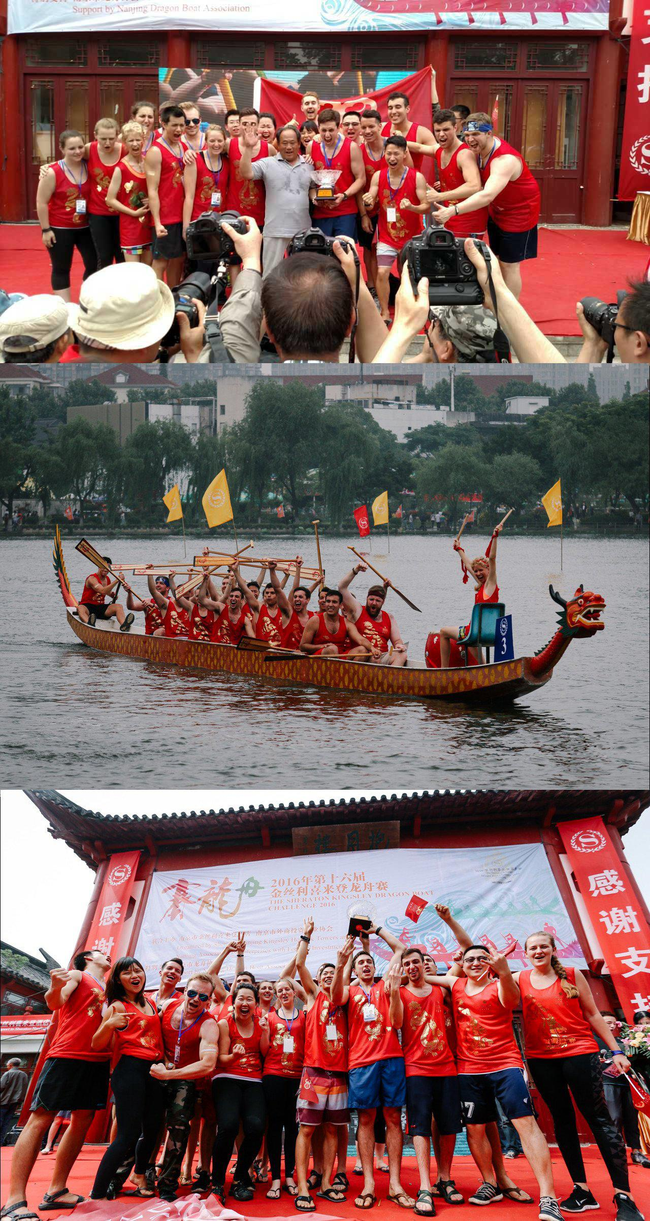 Dragonboat Racers, Hopkins Nanjing Center