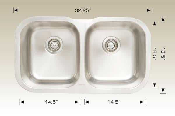"Bosco Sink 30"" U 2.0 - Slabxstudio"
