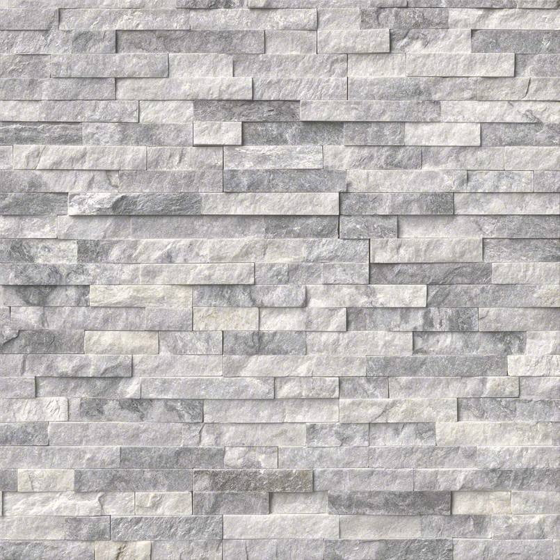 ALASKA GRAY - Stacked Stone - Slabxstudio