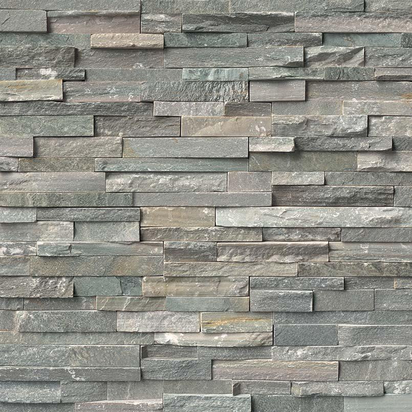 SIERRA BLUE - Stacked Stone - Slabxstudio