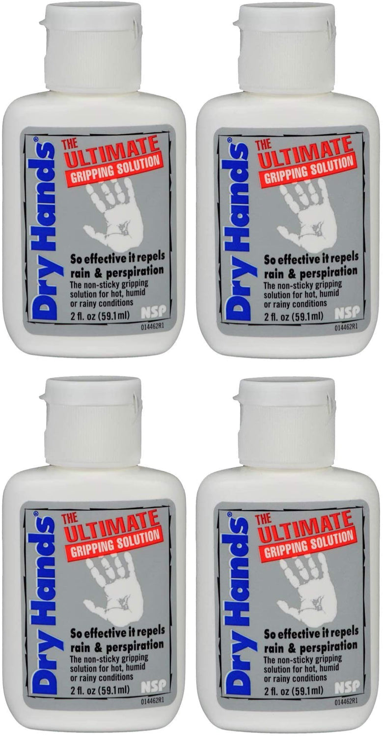 "4 PACK Dry Hands ""The Ultimate Gripping Solution"" - 2 oz"
