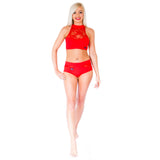 Wink - Terri and Lisette Top Red