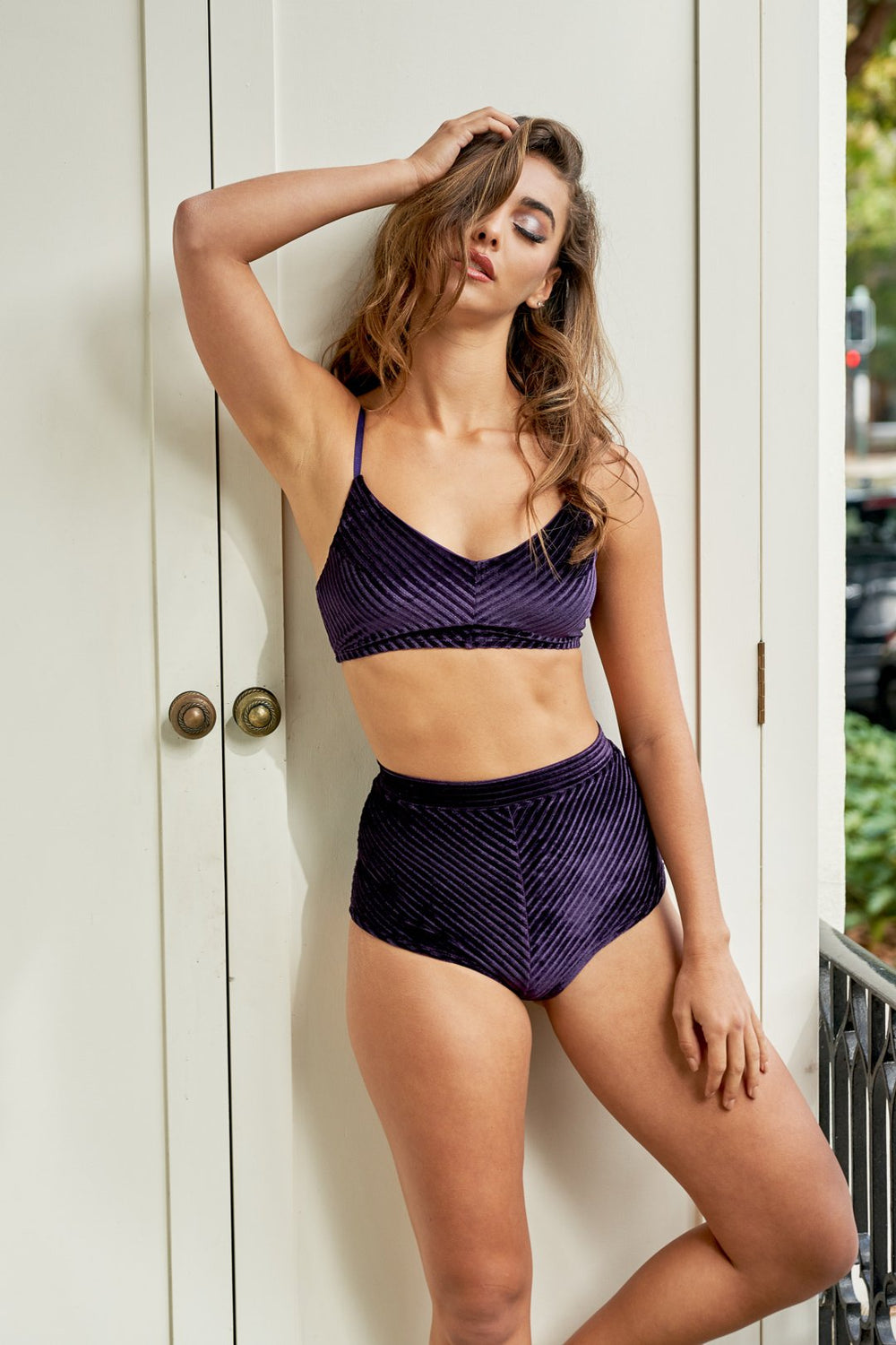 Lana Top - Plum