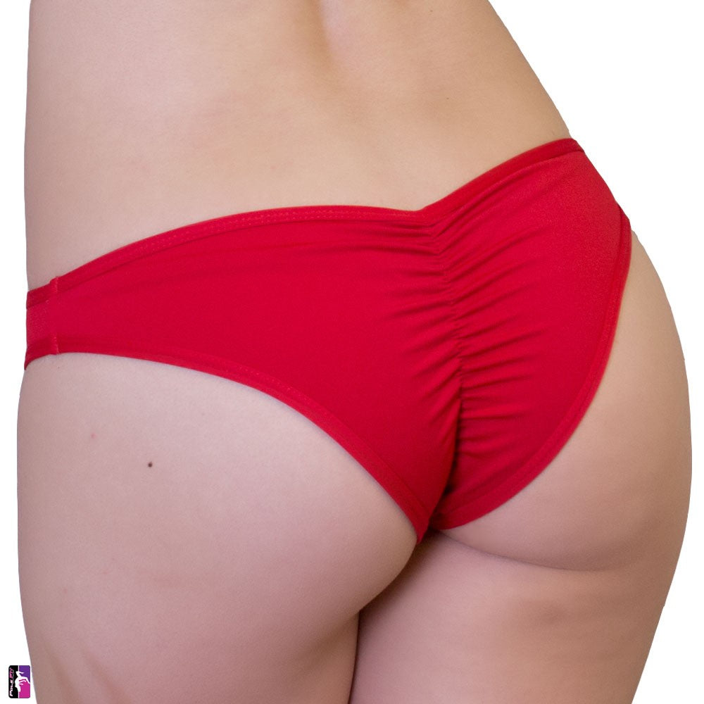 Bad kItty USA - PoleFit Bitsy Bottoms Red