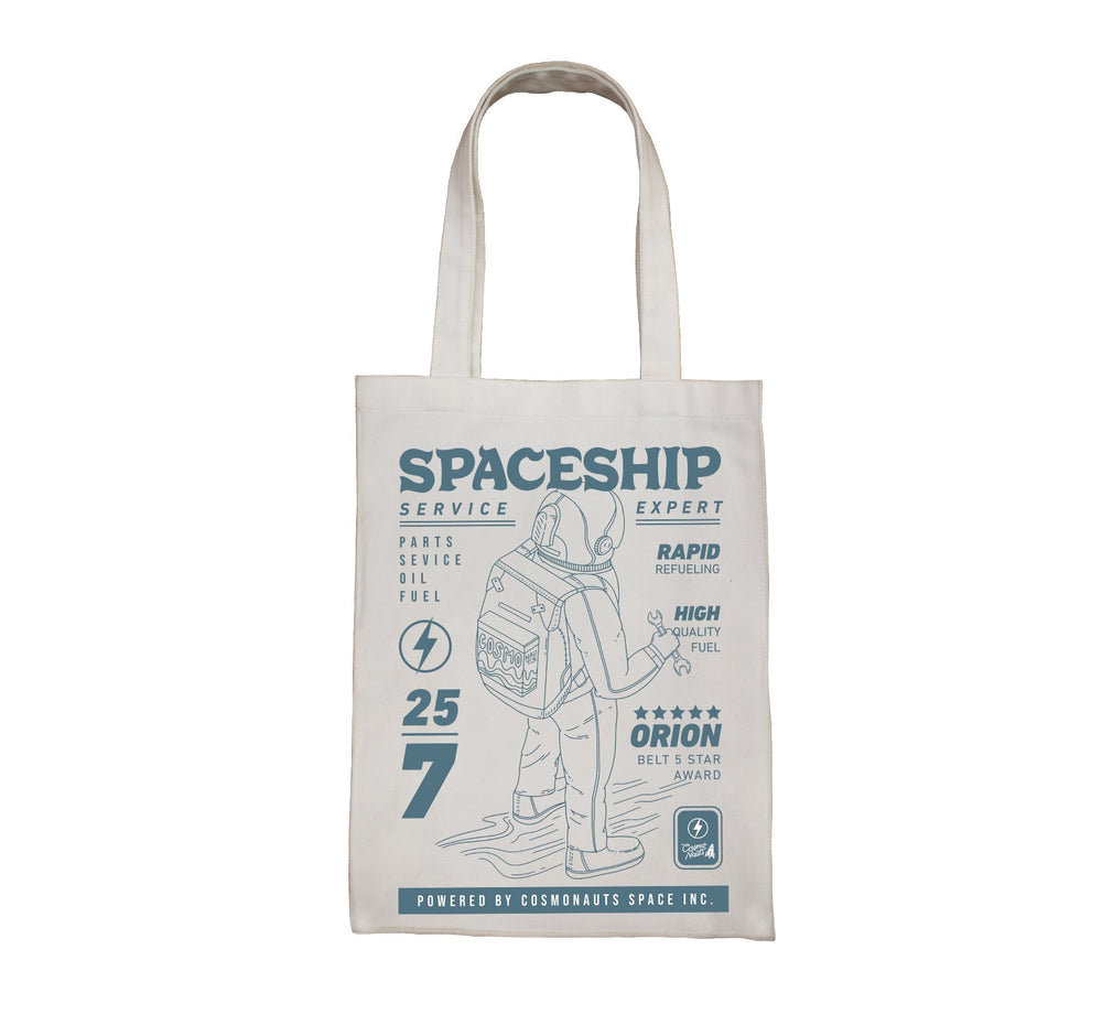 Spaceship Totebag